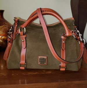 Dooney & Burke Suede Small Satchel